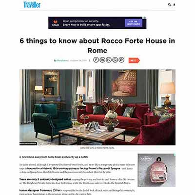 6 things to know about rocco forte house in rome - tommaso ziffer