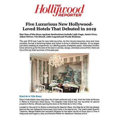 five luxurious new hollywood-loved hotels that debuted in 2019 - tommaso ziffer